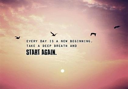 New beginning quote